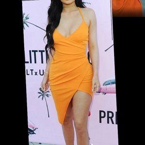 Orange Kylie Jenner Dress